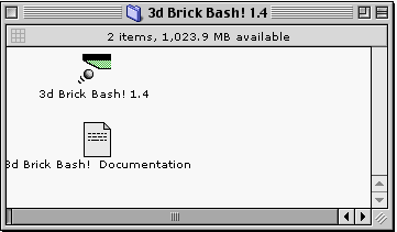 3d Brick Bash app